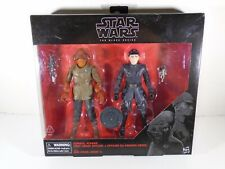 2017 HASBRO--STAR WARS THE BLACK SERIES--ACKBAR & FIRST ORDER OFFICER FIGURES