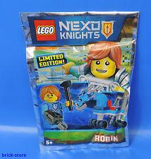 LEGO Nexo Chevaliers 271603 Edition Limitée / ROBIN avec COOL CHEVAL / polybag