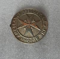 vintage large St Johns ambulance Cap badge