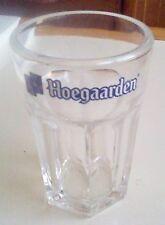 Hoegaarden short beer glass