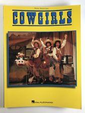 Cowgirls Musical Piano Sheet Music Guitar Chords Vocal Lyrics 15 Songs Book