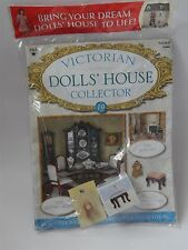 VICTORIAN DOLLS HOUSE collector magazine no 19 avec un Mantel Clock & Tabouret