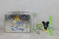 Disney Tinkerbell Tinker Lunch Box Purse Toy Key chain Watch