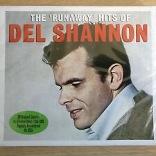 2CD NEW - DEL SHANNON - THE RUNAWAY HITS - Country Pop Rock Music 2x CD Album