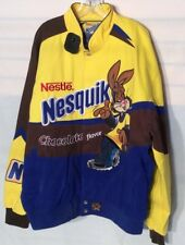 Cool Nestle Nesquik Rabbit Sewn Images & Letters men's jacket new with tag
