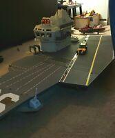 GI JOE USS FLAGG AIRCRAFT CARRIER99.9% Complete!