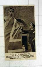 1920 Statue To Seaman Jh Carless Vc Unveiled Walsall