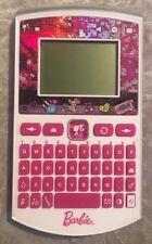 Barbie Girls Pink Pad ABC Educational Tablet Keypad Toy Oregon Scientific Rare