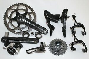 CAMPAGNOLO RECORD 11 COMPACT GROUPSET SHIFTERS CHAINSET DERAILLEUR BRAKES CARBON