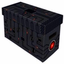 10 BCW Short Comic Book Boxes - CPU Art Cardboard Storage Box 150-175 Comics
