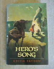 Hero's Song The First Song of Eirren by Edith Pattou 1991 HCDJ 1st Ed 1st Print