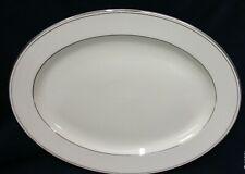 "Minton Bridal Veil English Bone China Large 16"" Oval Meat / Serving Platter"