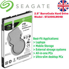 Seagate ST1000LM048 Guardian BarraCuda Ultra slip 2.5 inch 1TB Laptop Hard Drive