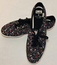 Kate Spade + Keds Black Floral Sneakers