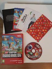 Nintendo Wii New Super Mario Bros  Complete