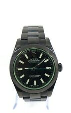 Rolex Milgauss Titan Black Stainless Steel Watch 116400GV