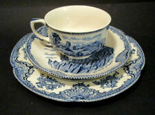 Johnson Bros Old Britain Castles Blau 3-tlg. Kaffeegedeck
