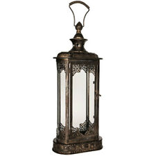 Antique Replica Candle Holder Vintage Style Lantern Mantle Table Decor  NEW