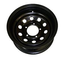 Raptor 4x4 Suzuki Samurai Jimny Vitara Modular HD Black Steel Wheel ET -30 7x15