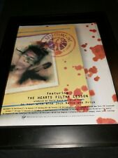 David Bowie The Heart's Filthy Lesson Rare Original Promo Poster Ad Framed!