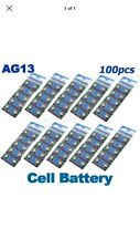 50 X AG13 LR44 SR44 L1154 357 A76 QUALITY ALKALINE BUTTON /COIN CELLS BATTERIES