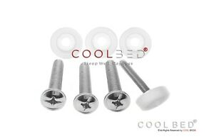 4 X HEADBOARD BOLTS SCREWS AND WASHERS FOR DIVAN BED