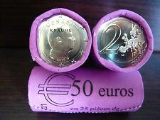 MONACO 2017 - Pièce de 2 Euro  Albert II - Neuve UNC - Lettre suivie -Disponible