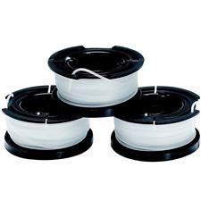 BLACK+DECKER 3er PACK Fadenspulen für Rasentrimmer A6485 3 x 10m Ø 1,5mm