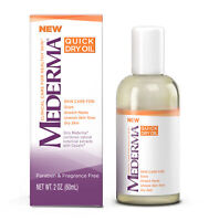 4 Pack Mederma Clinical Care Quick Dry Oil Combined With Cepalin 2 Ounces Each