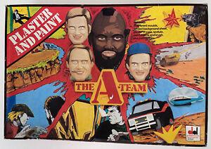 Rare 1983 Dekker Toys The A-Team Plaster And Paint Set Mr.T Vintage UK MIB
