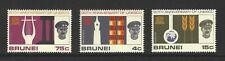 BRUNEI,  # 128-130,  MNH,  UNESCO, UNITED NATIONS,  Complete Set of 3