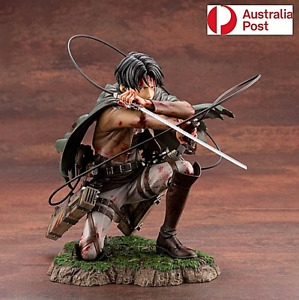 Attack on Titan Figure Artfx J Levi Rival Ackerman Renewal Package Toy 18CM