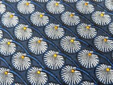 Robert Talbott Best of Class Mens Tie Navy 100% Silk Floral Designer Made in USA