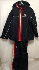 Fila Ski Team Jacket Overall Pants Sz Small Jacket Pants Large Winter Snow Board