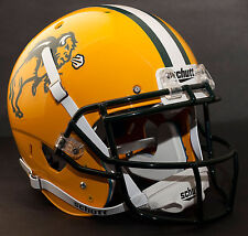 *CUSTOM* NORTH DAKOTA STATE BISON Schutt XP REPLICA Football Helmet w/ROPO-SW
