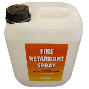 Fire Retardant Spray 750ml 5 Litre 25 Litre Drum WITH FIRE CERTIFICATE FR FABRIC