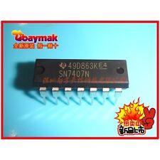 5PCS X SN7407N DIP14 Six High Voltage Output Inverter Logic IC TI