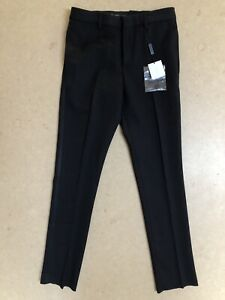 BURBERRY Children Dress Pants Trousers Black 8Y 24x25 NEW WITH TAGS *FREE SHIP*