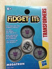BNIP New Fidget Its by Hasbro Fidget Spinner - Transformers - Megatron