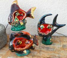Céramique vintage trois lampes veilleuses DLG Vallauris