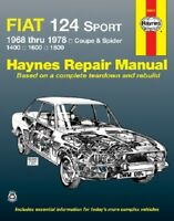 Repair Manual Haynes 34010 fits 68-78 Fiat 124