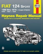 Repair Manual-Base Haynes 34010 fits 1968 Fiat 124