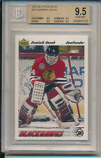 1991 Upper Deck Dominik Hasek (RC) (#335) (All 9.5 sub grades) BGS9.5 BGS