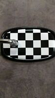 Fastback Checkered Bicycle Mirror
