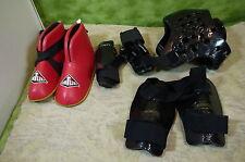 Martial Arts Protective Gear Head Feet Century Macho lot set Sb01