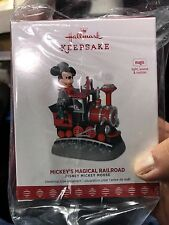 2017 D23 Exclusive Expo Hallmark Keepsake Mickey's Magical Railroad Ornament
