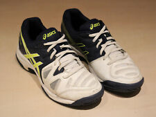 Asics Gel Game Trainers, Men's Tennis Shoes, White & Navy, UK Size 5, EU Size 39