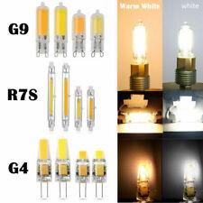 G4 G9 R7S 78/118mm 3W 5W 6W 12W COB LED Replaces Halogen Capsule Bulbs Dimmable