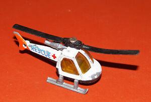 Matchbox - Elicottero Bianco Rescue 1:110