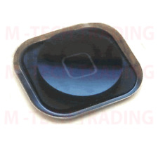 NEW ORIGINAL FOR IPHONE 5 BLACK HOME MENU BUTTON WITH RUBBER + CONTACT (I522)